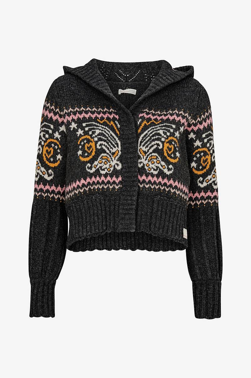 Cardigan Arctic Wings Hood Sweater