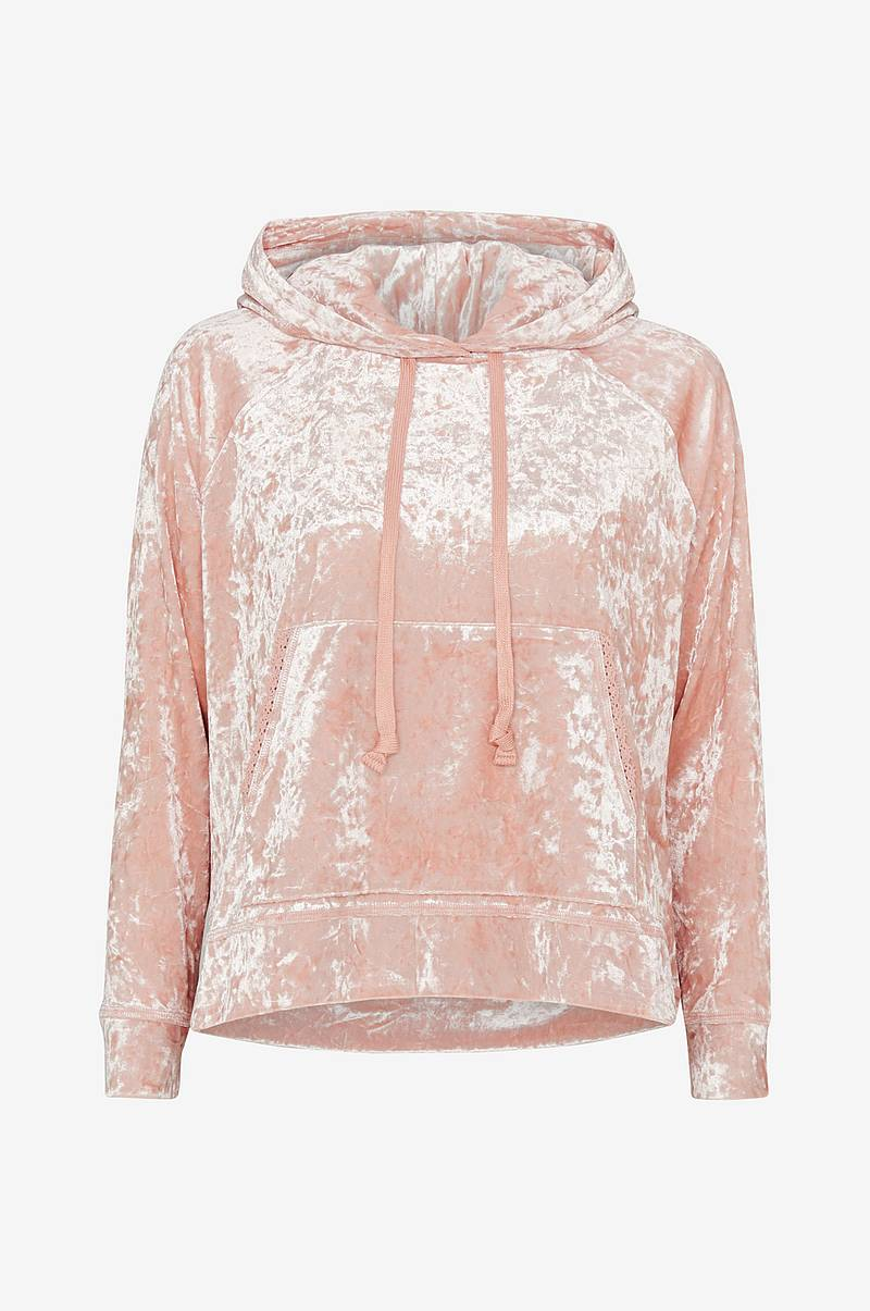Velourtrøje Just Like Me Hoodie