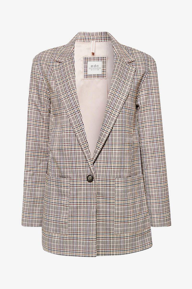 Jakke Checked Blazer