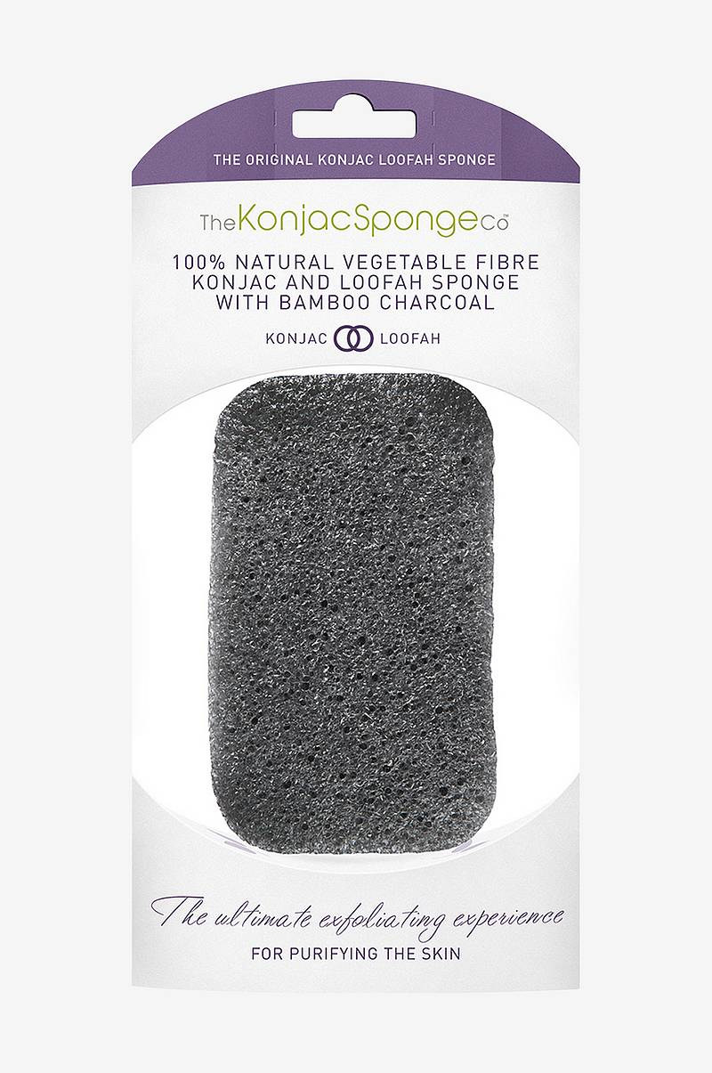 Konjac & Loofah Mix Charcoal Body Sponge