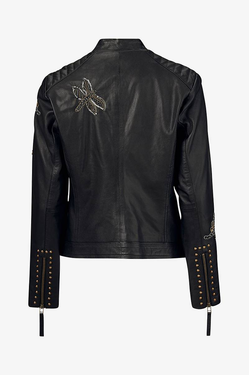 Skinnjakke Fiorella Leather Jacket