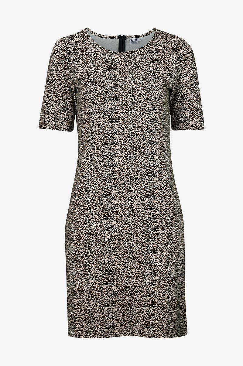 Kjole Leopard Print Dress
