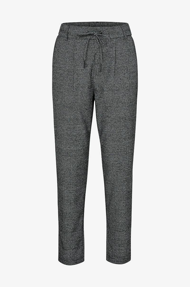 OnlPoptrash Soft Check Pant housut