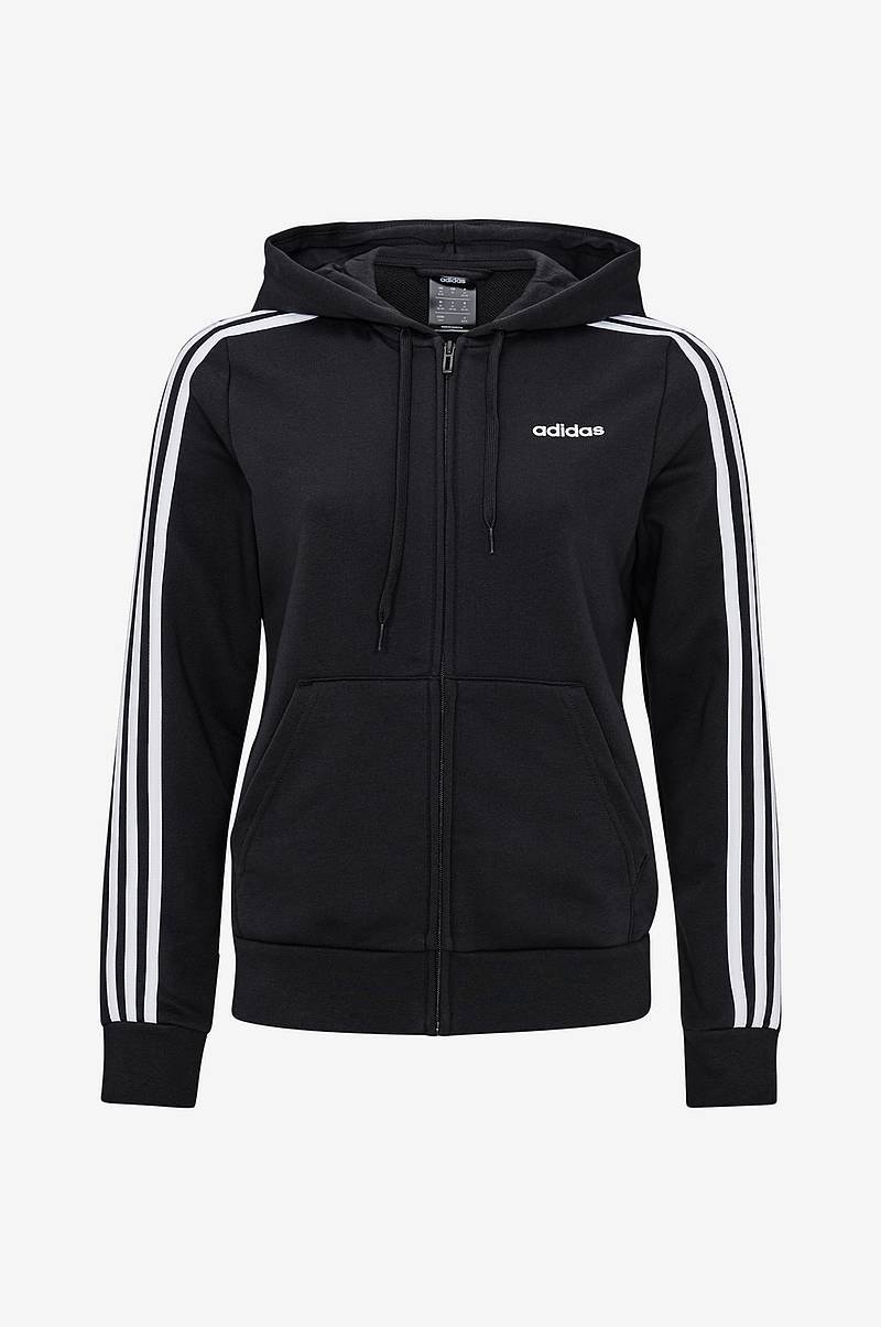 Essentials 3 stripes Full Zip Hoodie huppari
