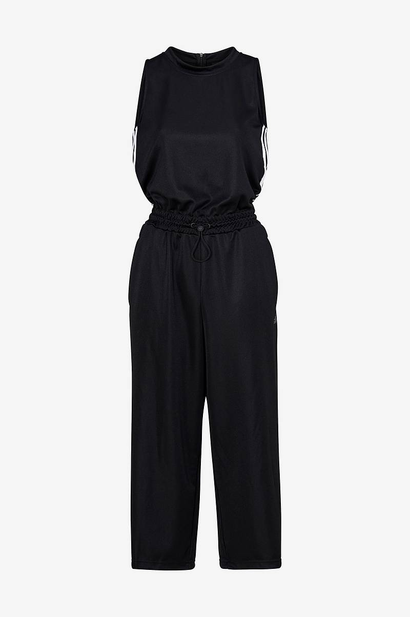 Cropped Leg Snap Romper jumpsuit