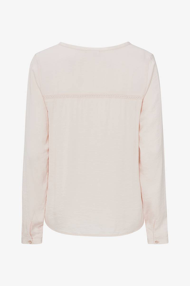 Bluse viCava L/S V-Neck Top
