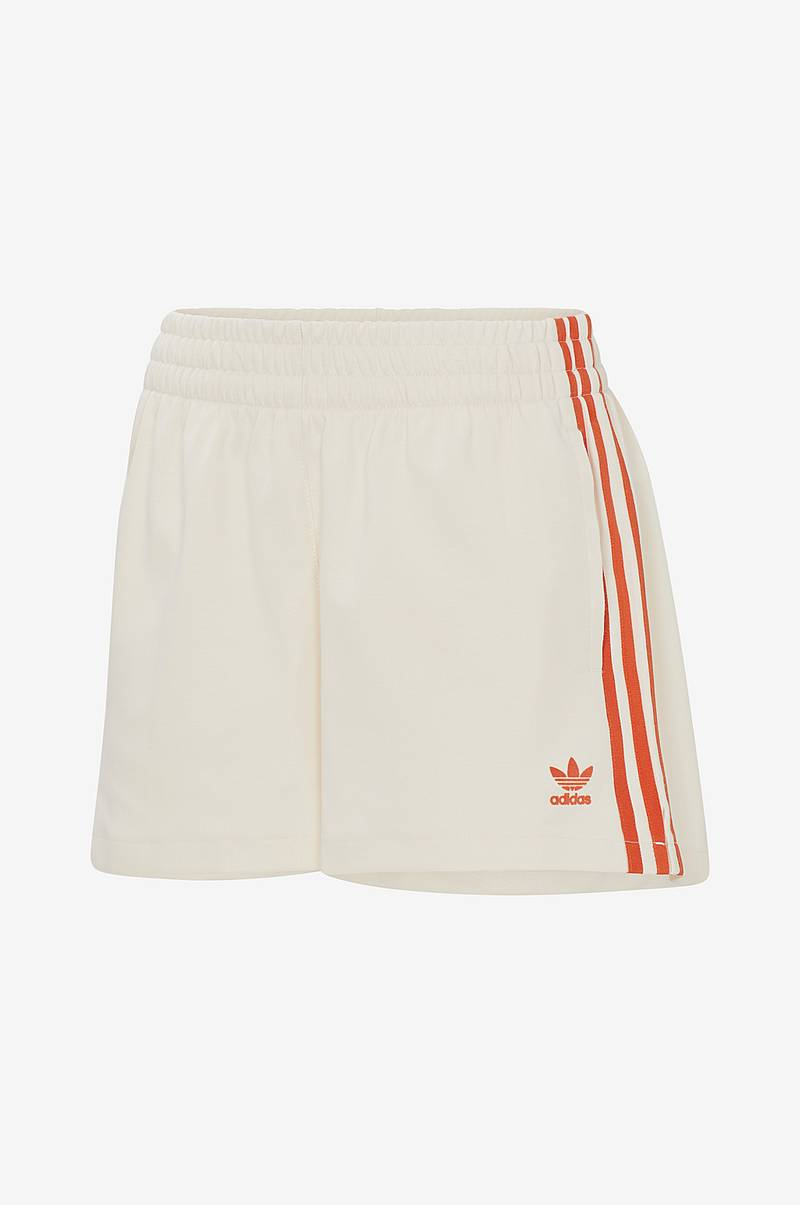 Shorts i dobbeltstrikket materiale