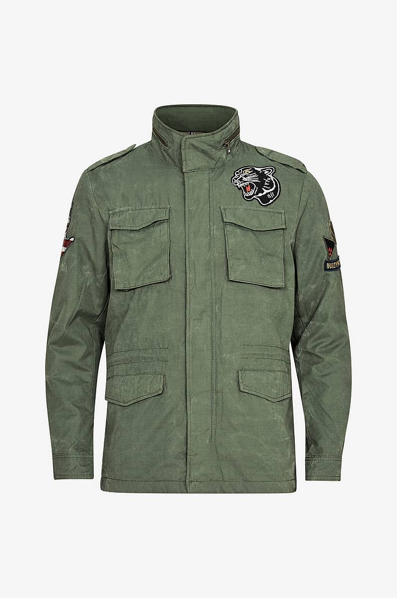 jorOscar Military Jacket w. Badges