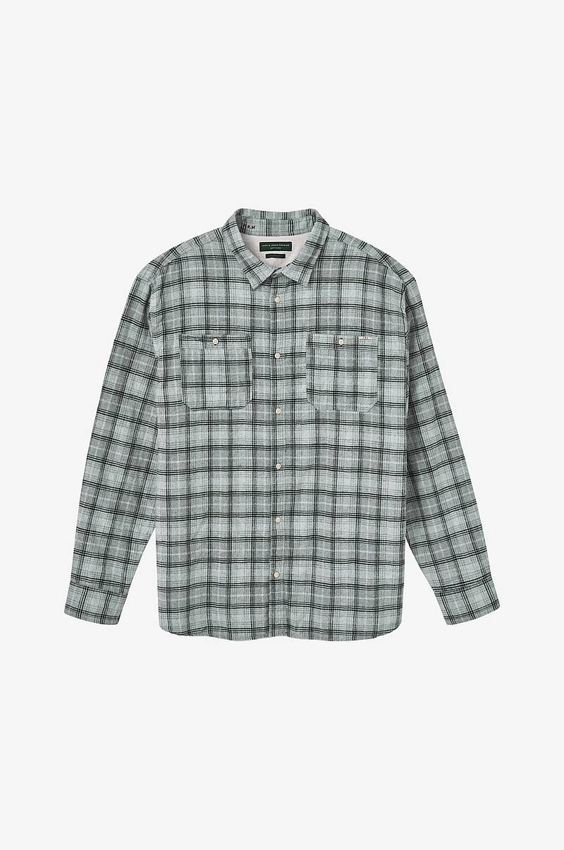 Skjorte jprHarry Flannel Shirt L/S Worker PS