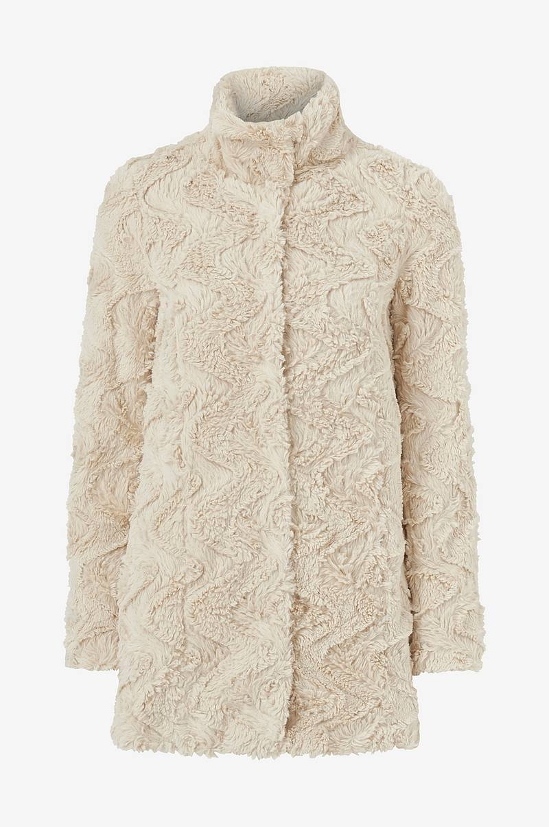 Fuskepels vmCurl High Neck Faux Fur Jacket