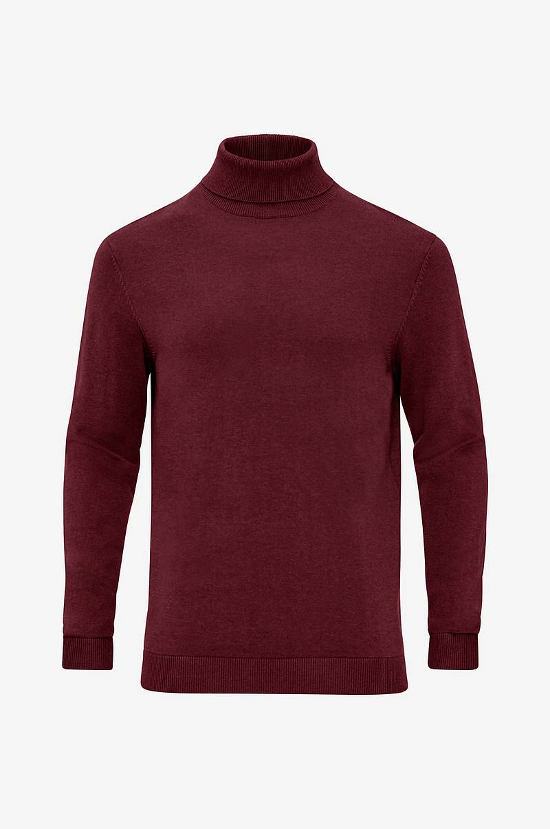 Rullekravetrøje slhTower Cot/Silk Roll Neck B