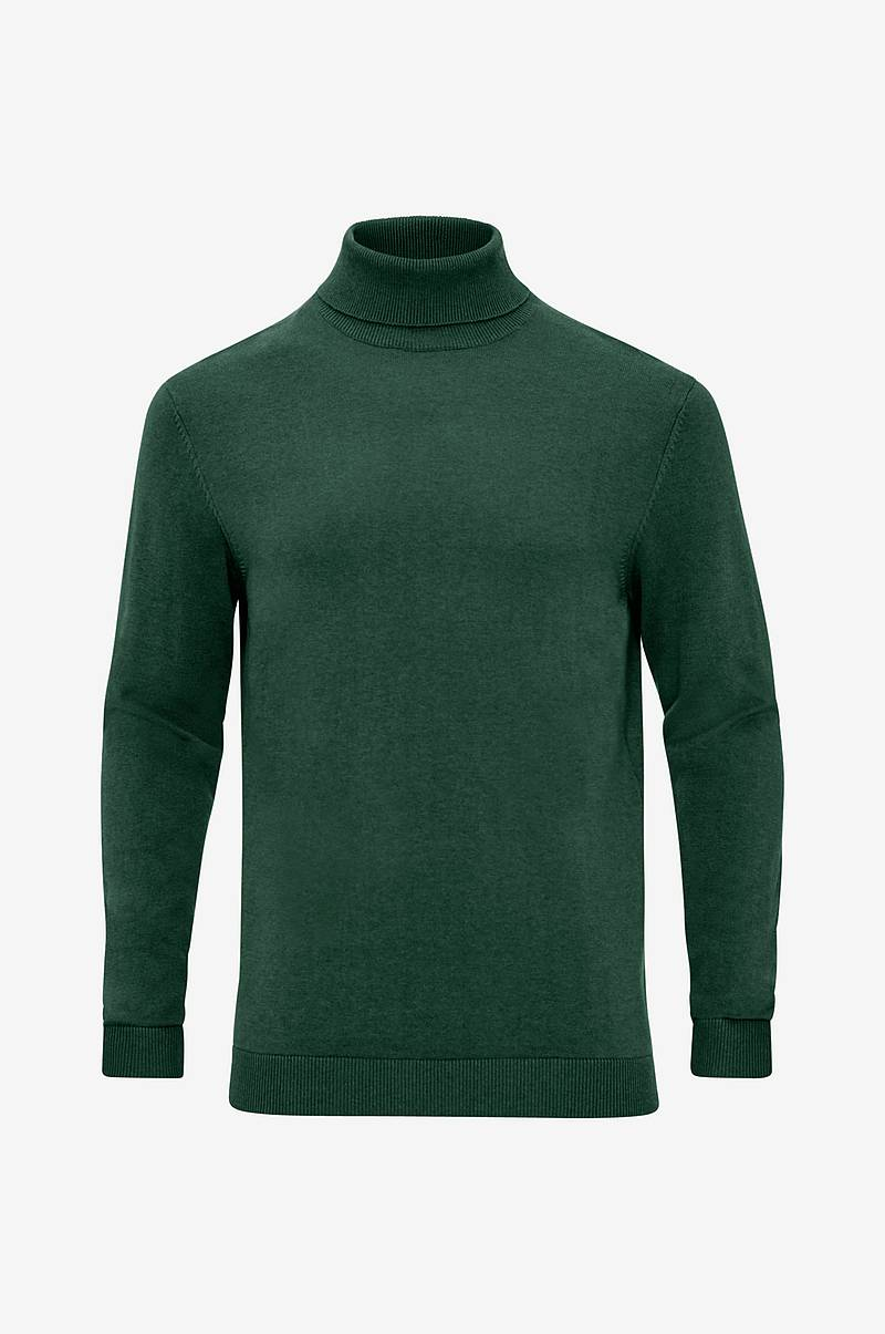 Pologenser slhTower Cot/Silk Roll Neck B