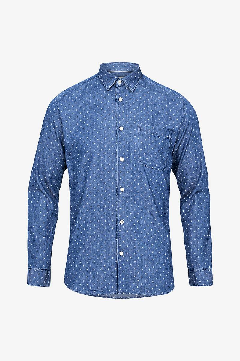 SlhSlimnolan Shirt LS Mix W kauluspaita, slim fit