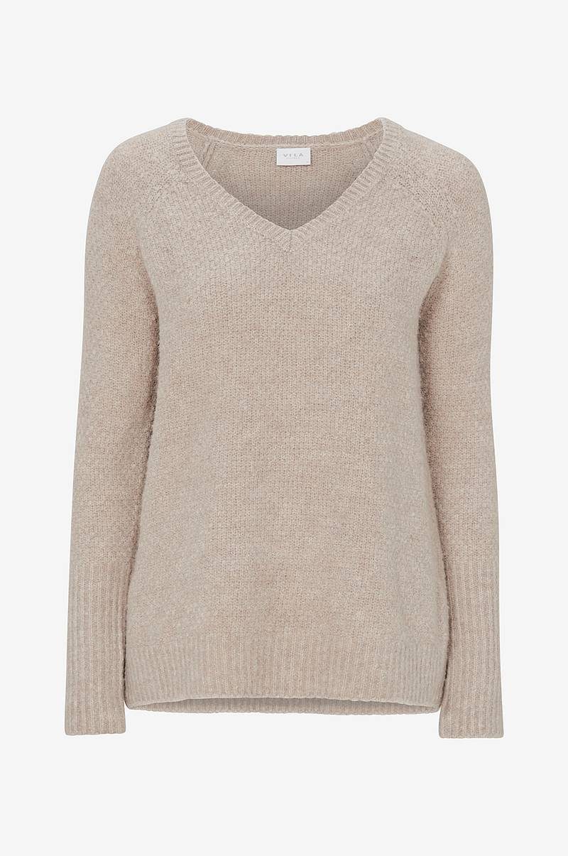 ViPlace V Neck Knit Top neulepusero