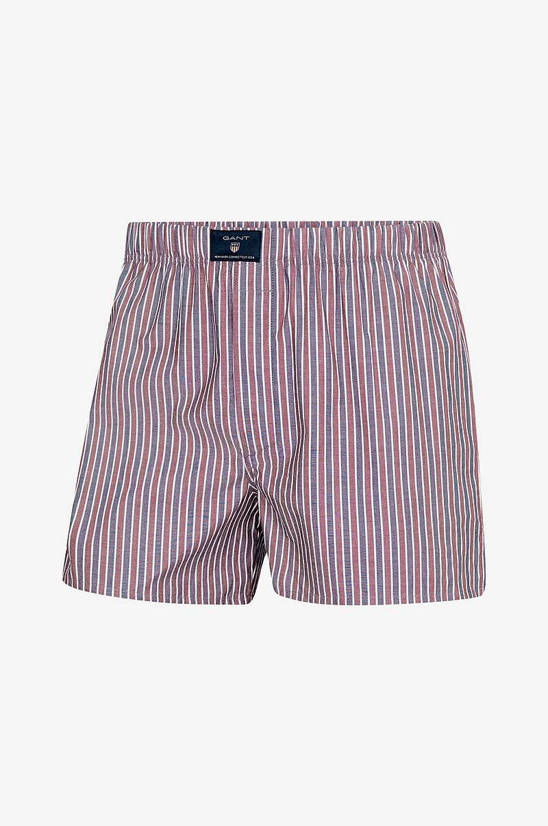 Boxershorts SH. Stripe/Check Tunnel 2-pack