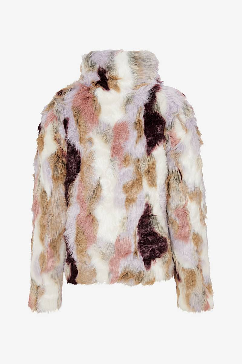 Fuskepels viVeria Faux Fur Jacket