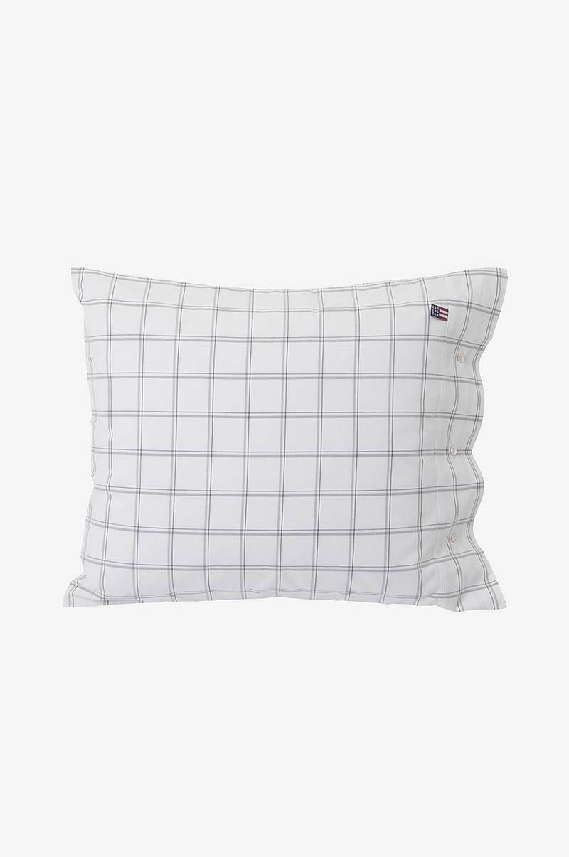 Checked Oxford Pillowcase tyynyliina