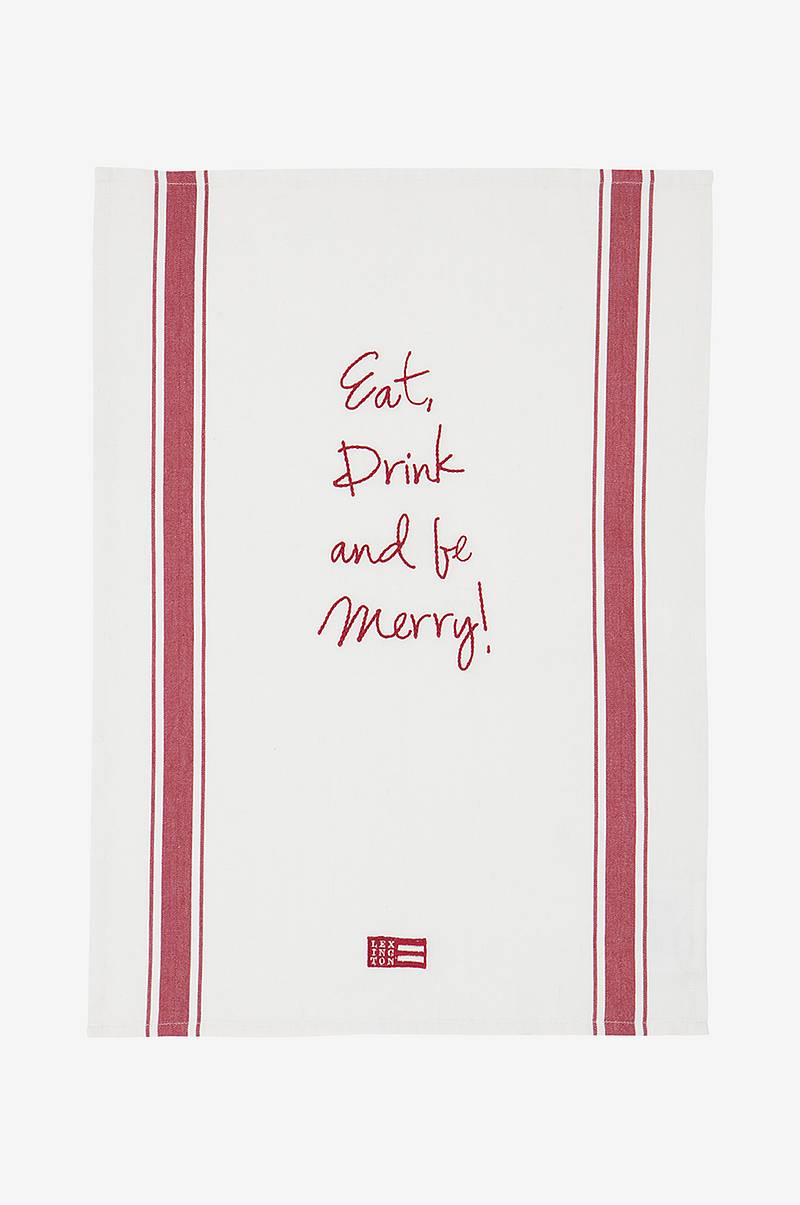 Viskestykke Embroidery Kitchen Towel