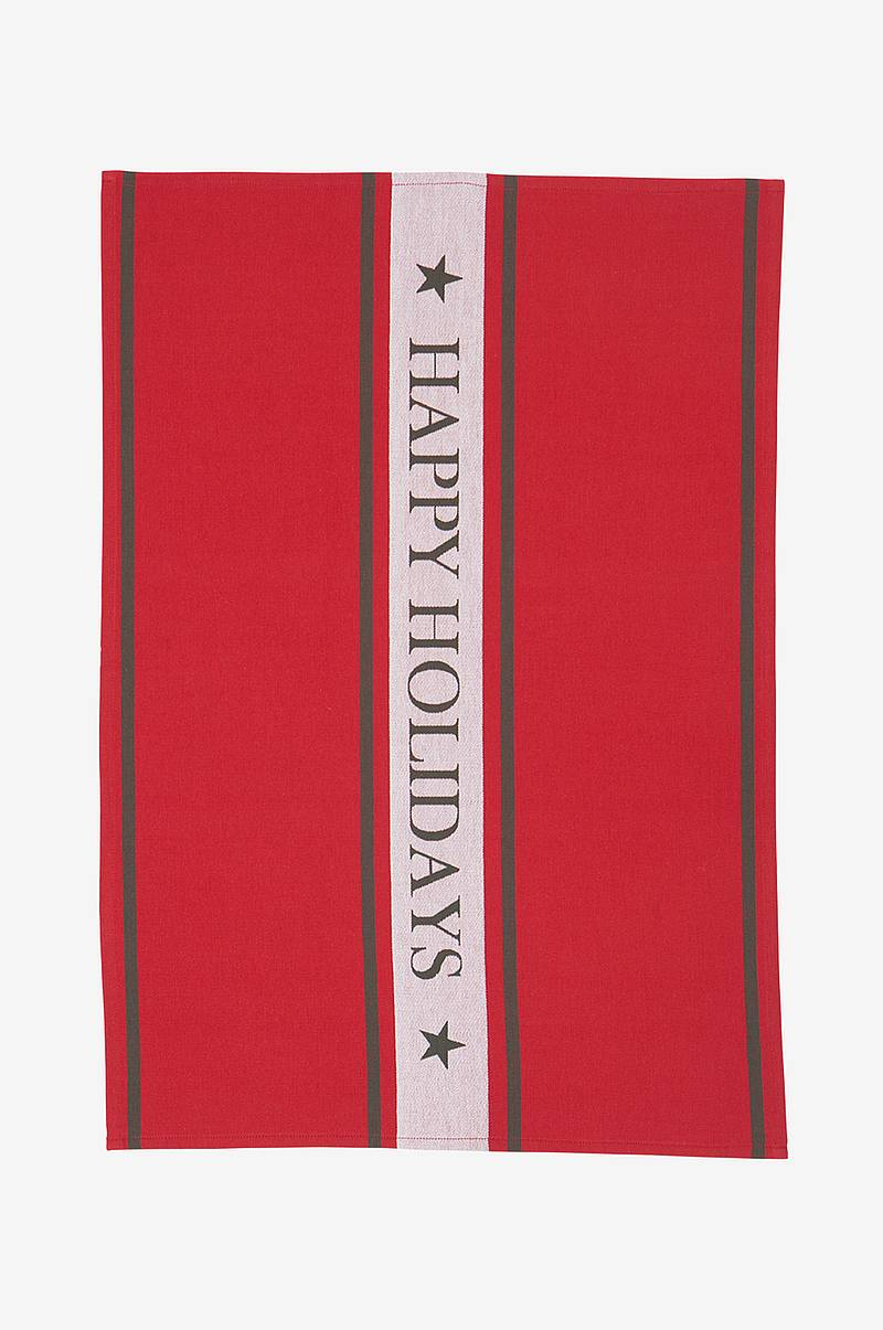 Viskestykke Happy Holiday Kitchen Towel