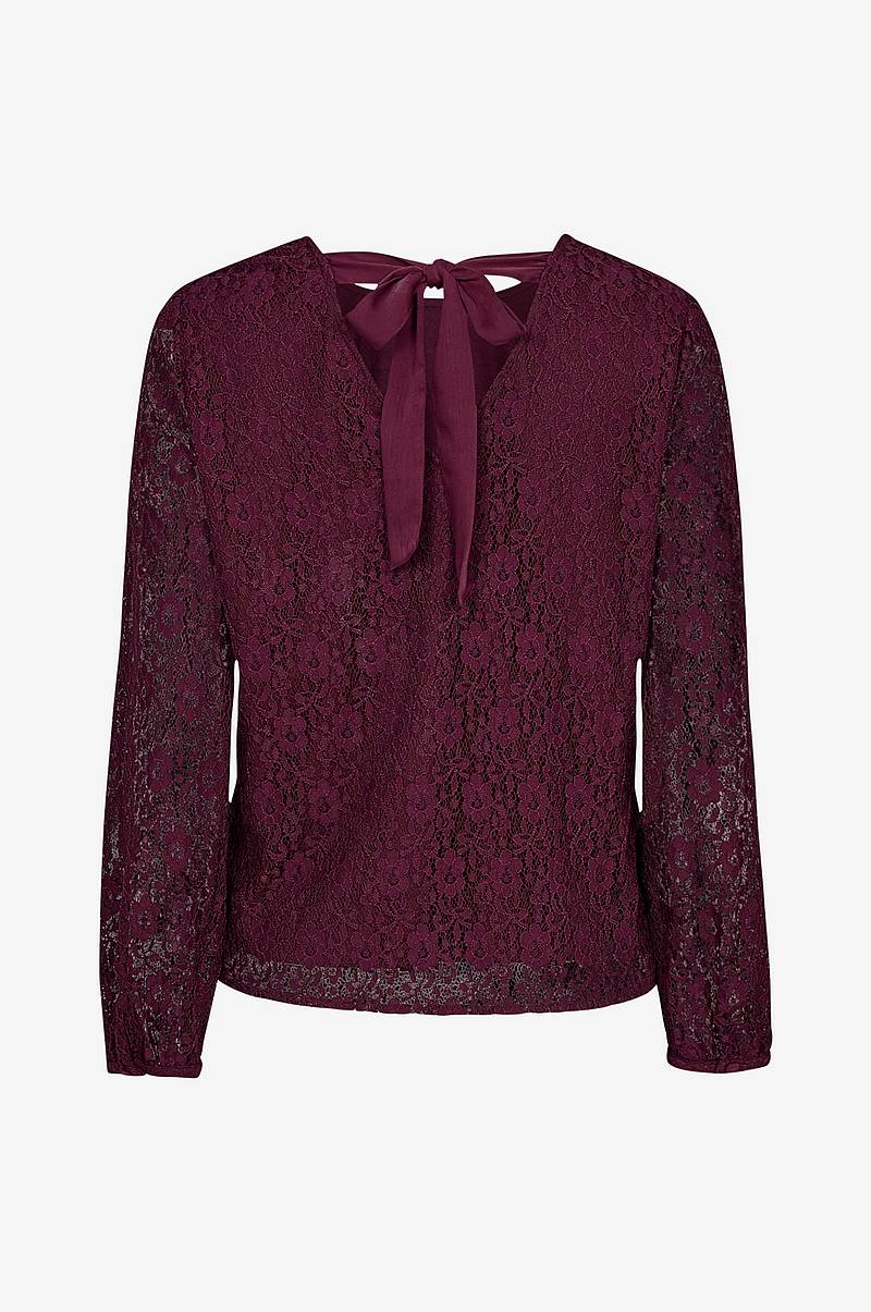 Blondetopp vmStella L/S Lace Top