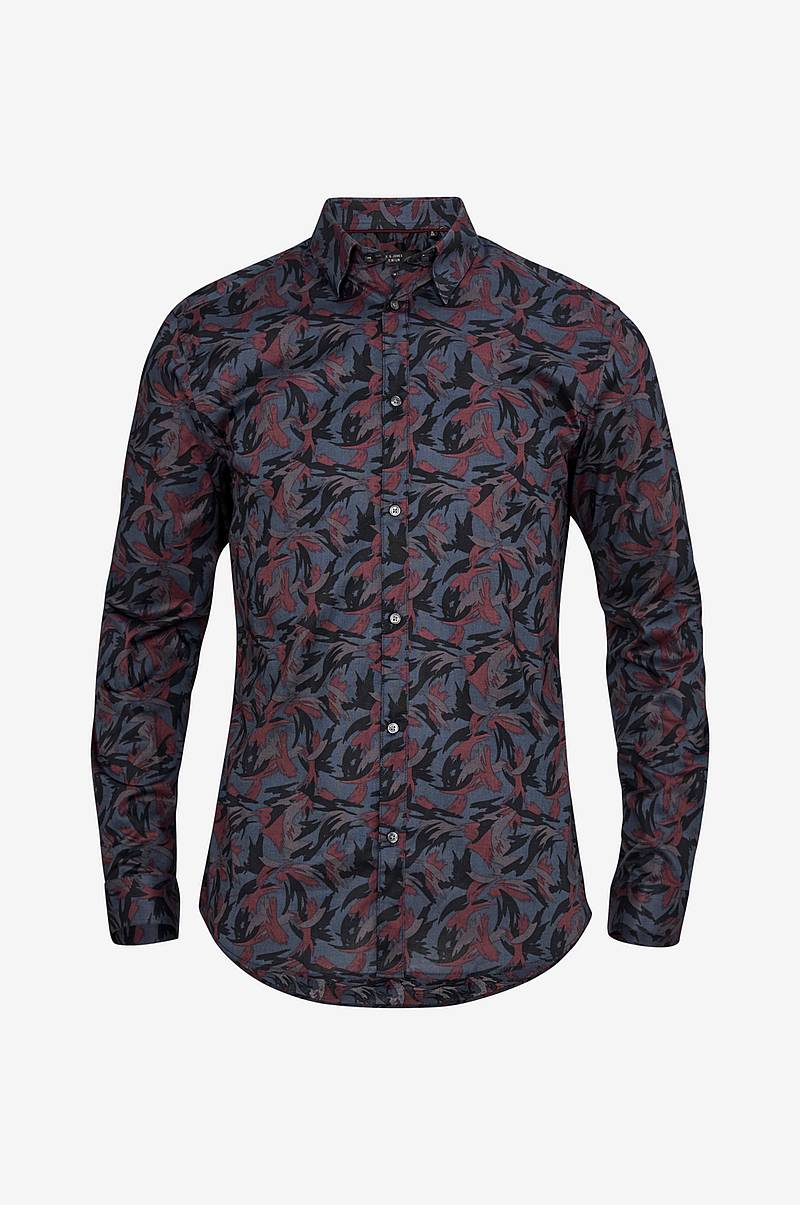 JprHeston Print Shirt Slim kauluspaita