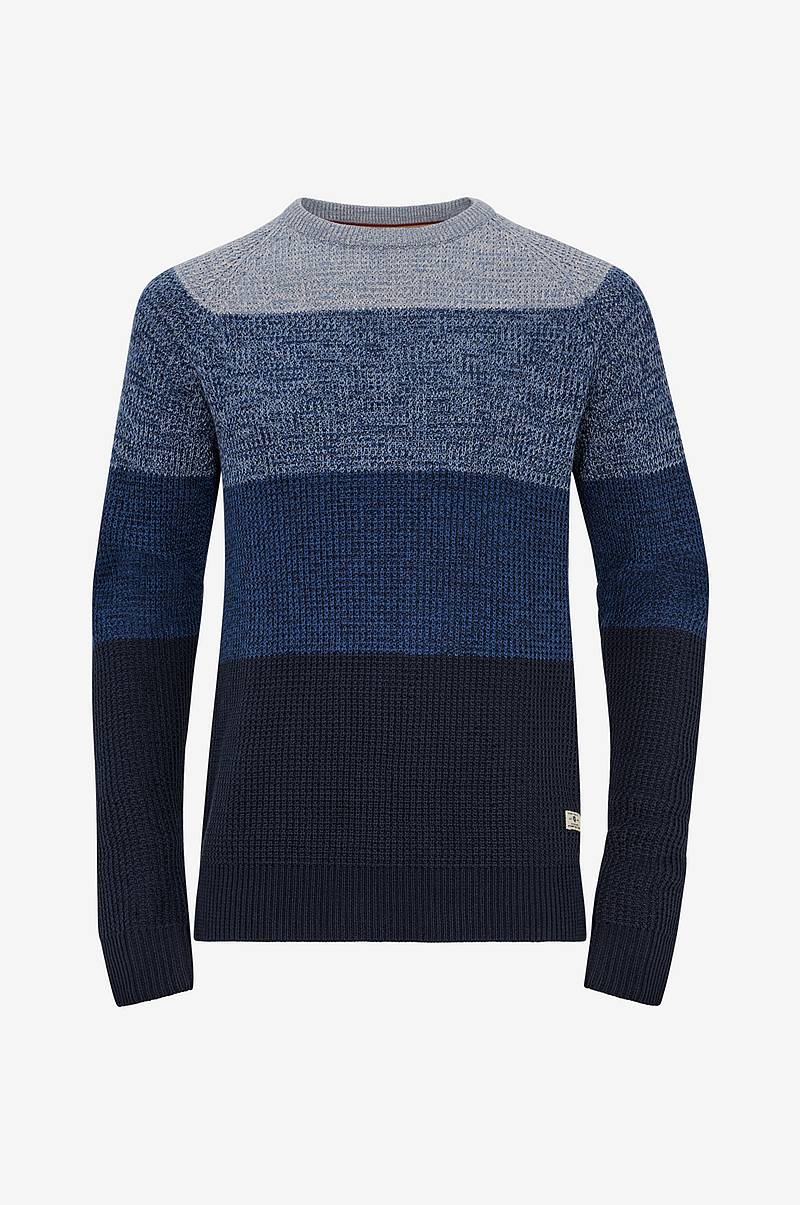 Tröja jprBlock Knit Crew Neck
