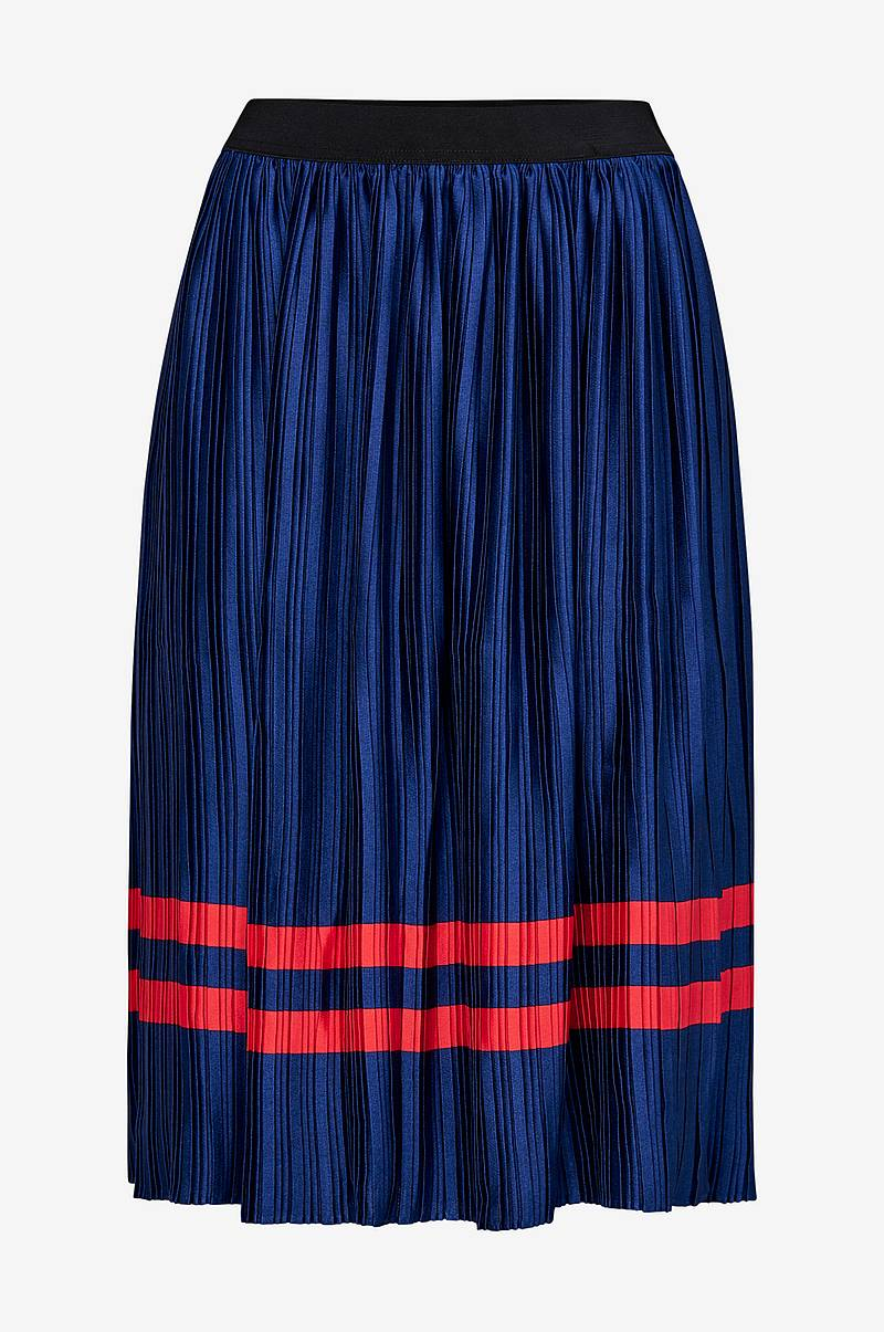 Plisse Skirt Stripe hame