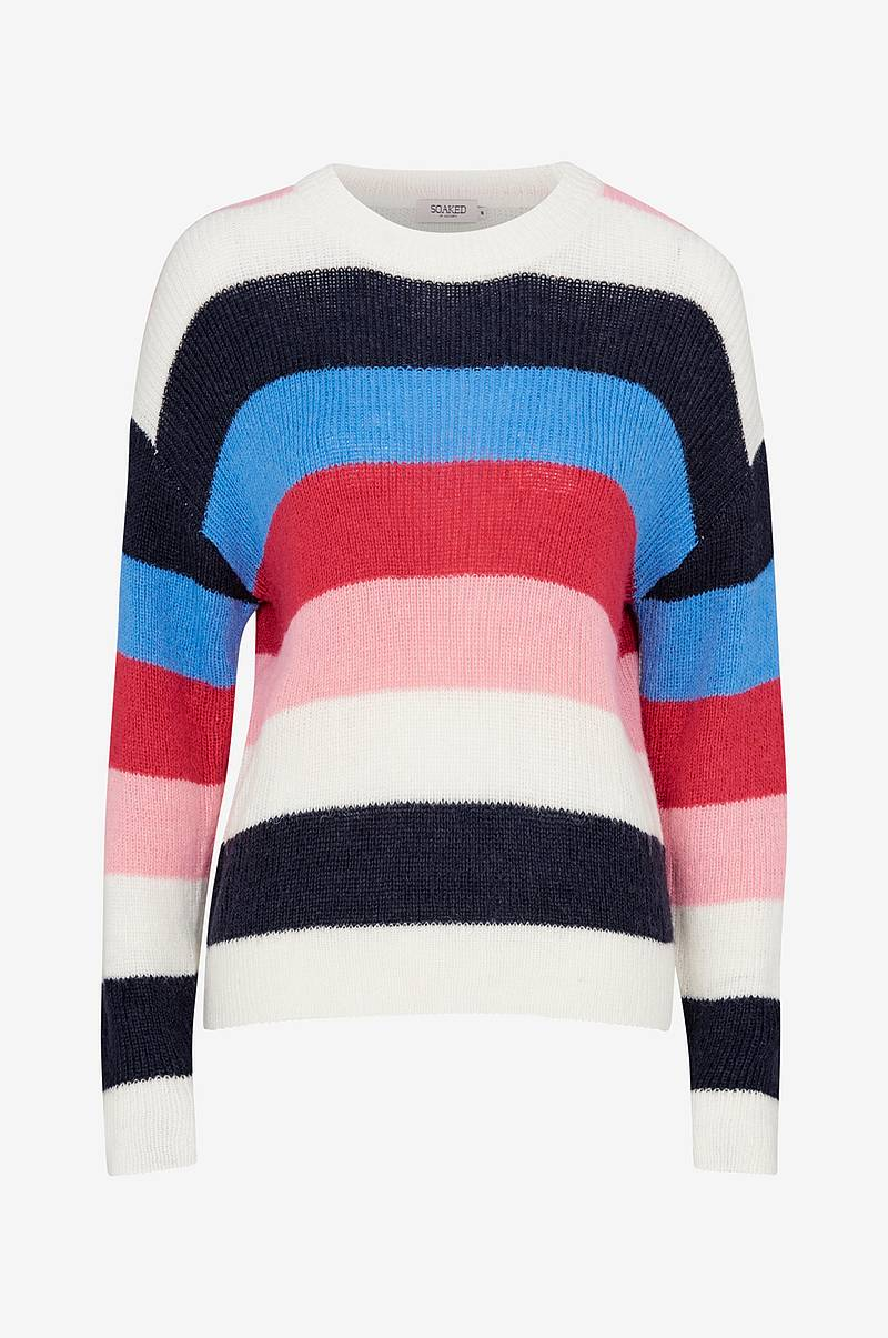 Genser Frida Striped Pullover LS