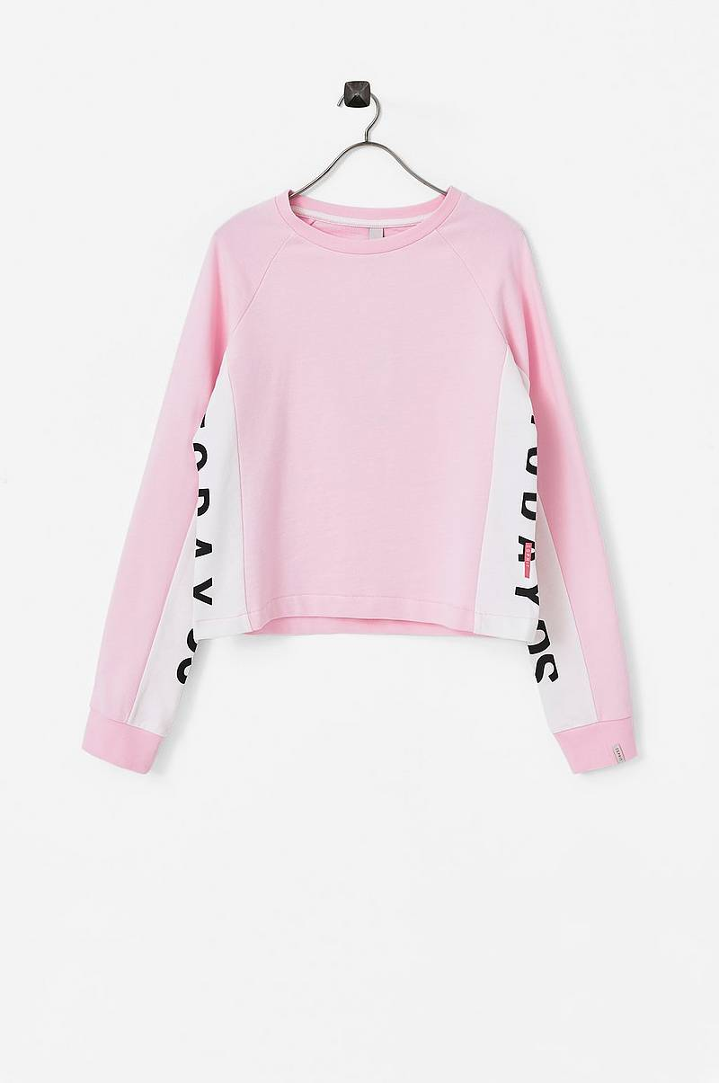 Sweatshirt med statementprint