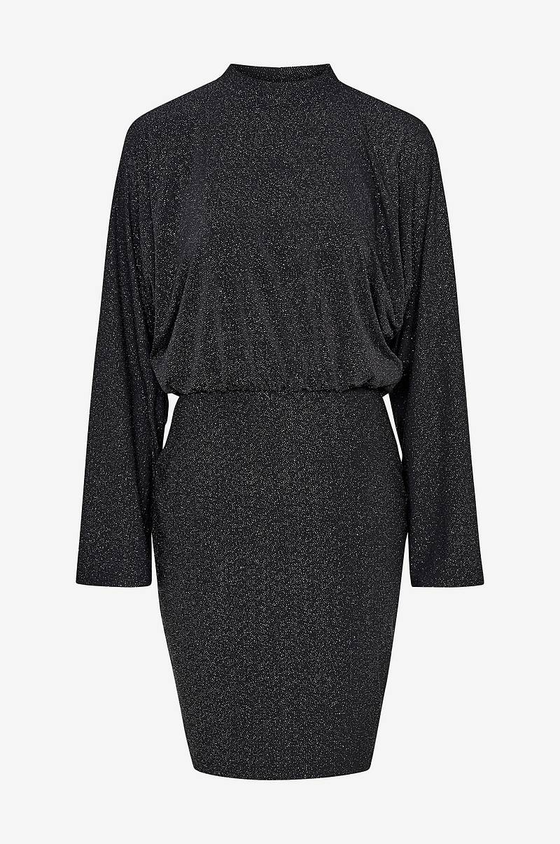 Kjole viLulexa Highneck L/S Short Dress