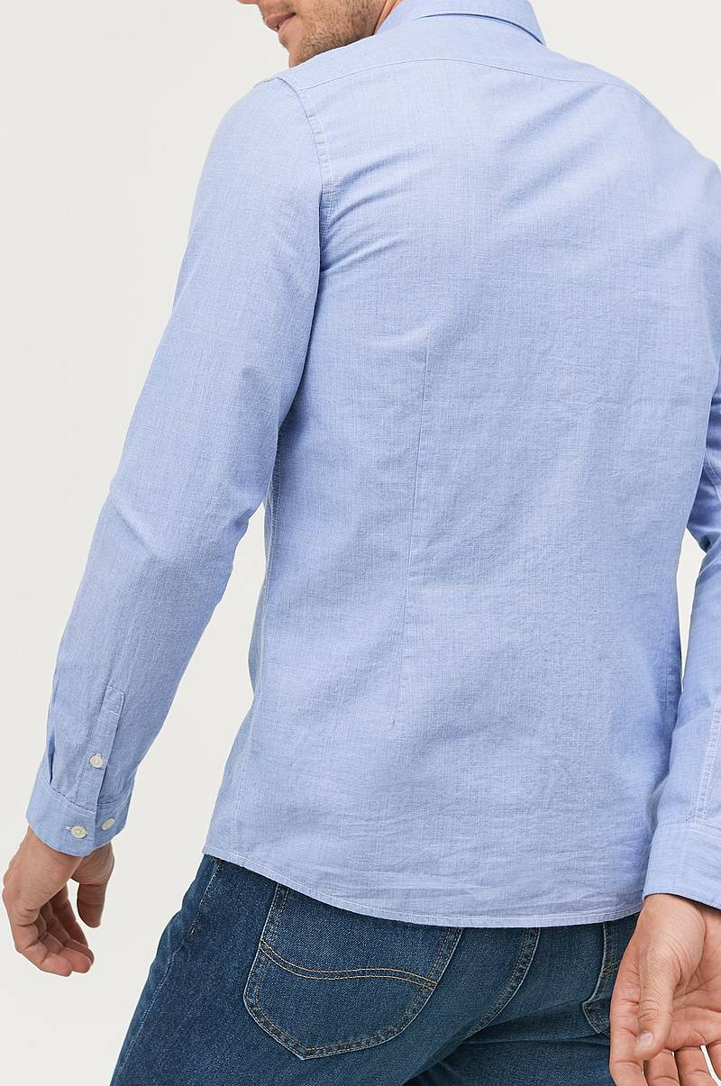 Slim Button Down Shirt kauluspaita
