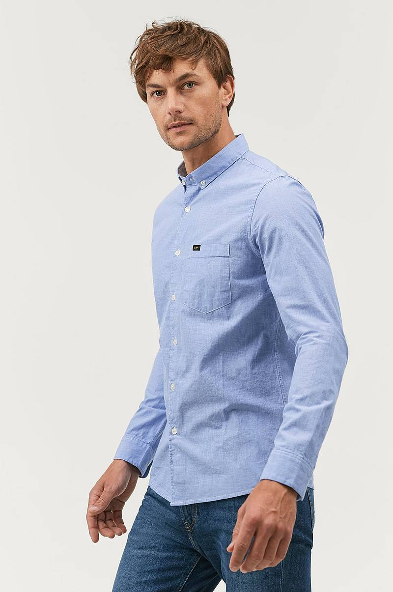 Skjorte Slim Button Down Shirt