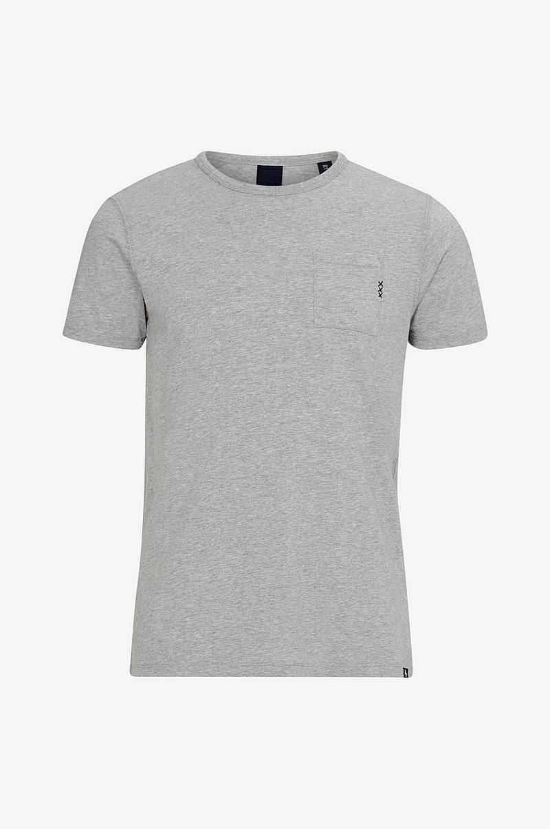 T-shirt Ams Blauw 1 Pocket Tee