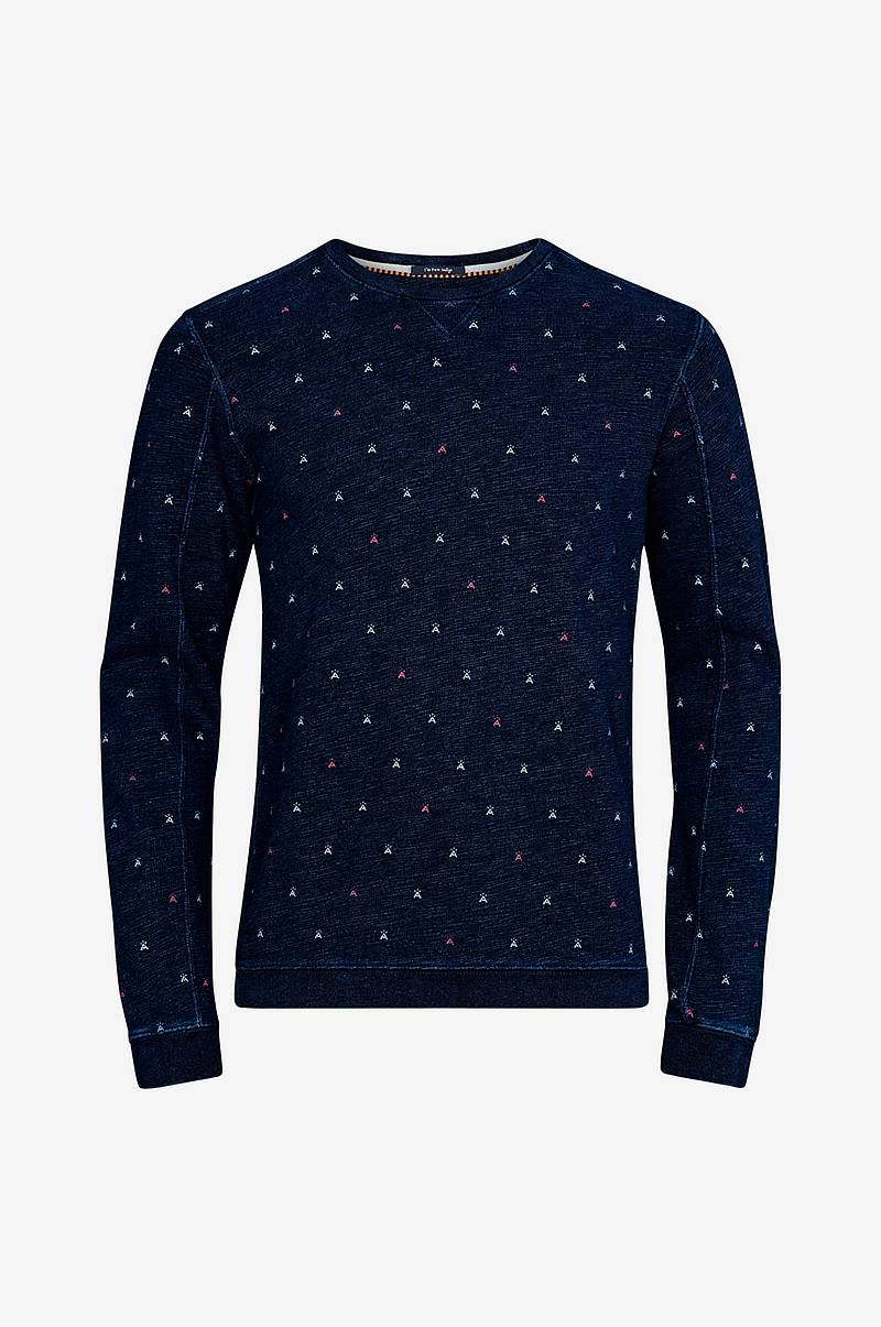 Sweatshirt Ams Blauw Indigo Sweat