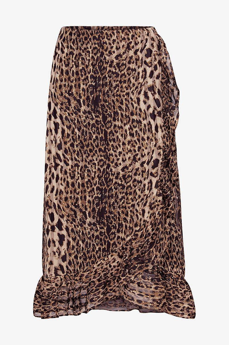 169bd0ace899 Volangkjol Amaze Skirt, leopardmönstrad