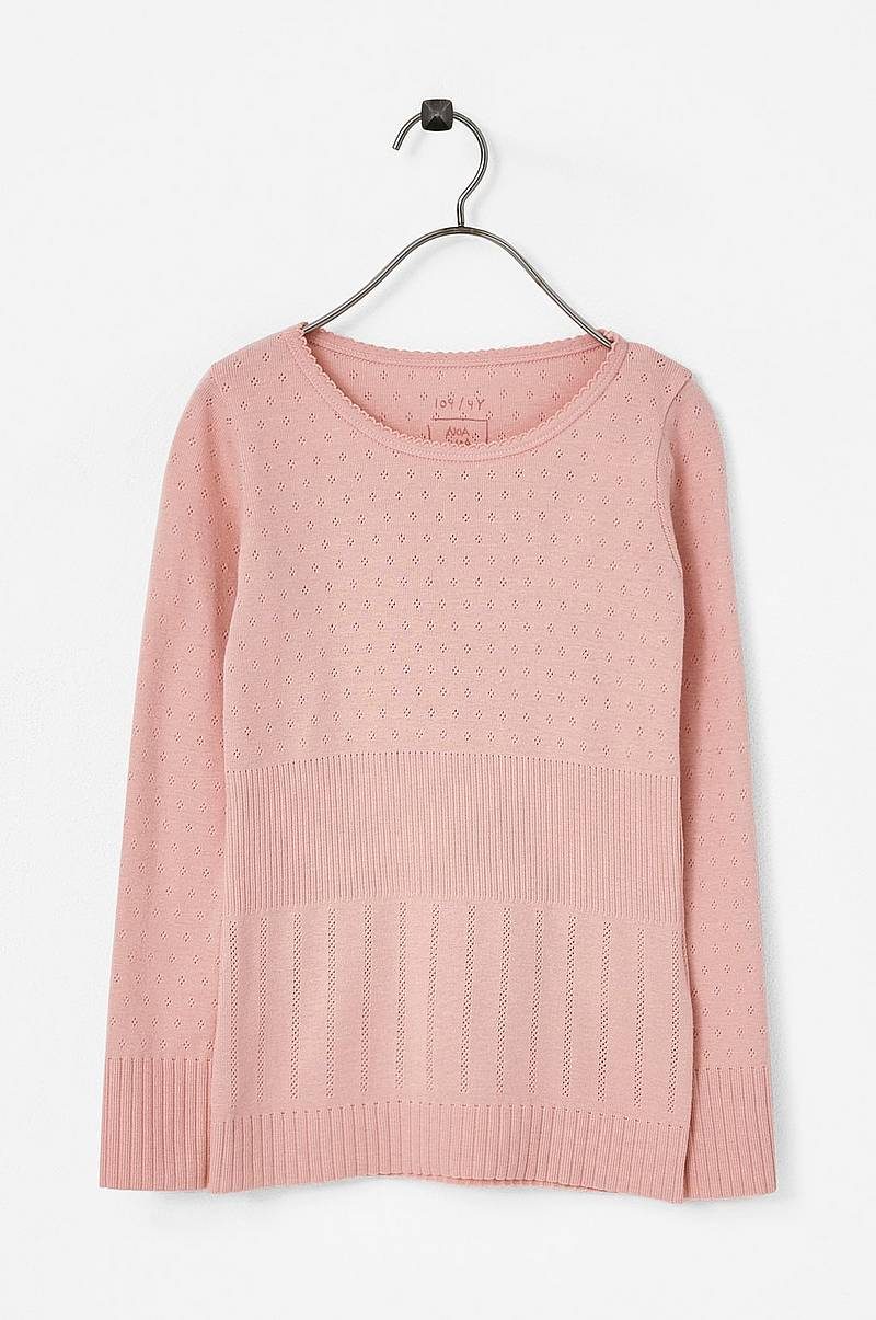 Top Mini Basic Doria, langt ærme