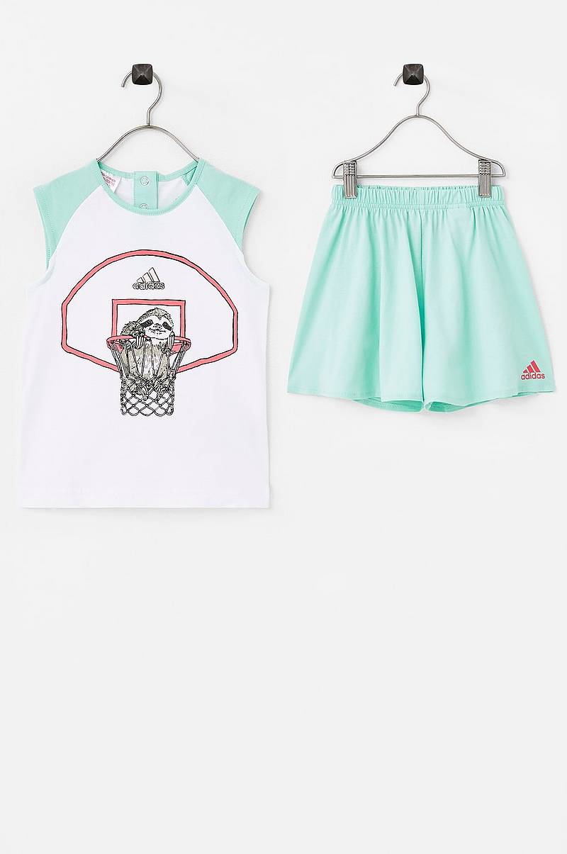 Infant Animal Set, t-shirt och shorts