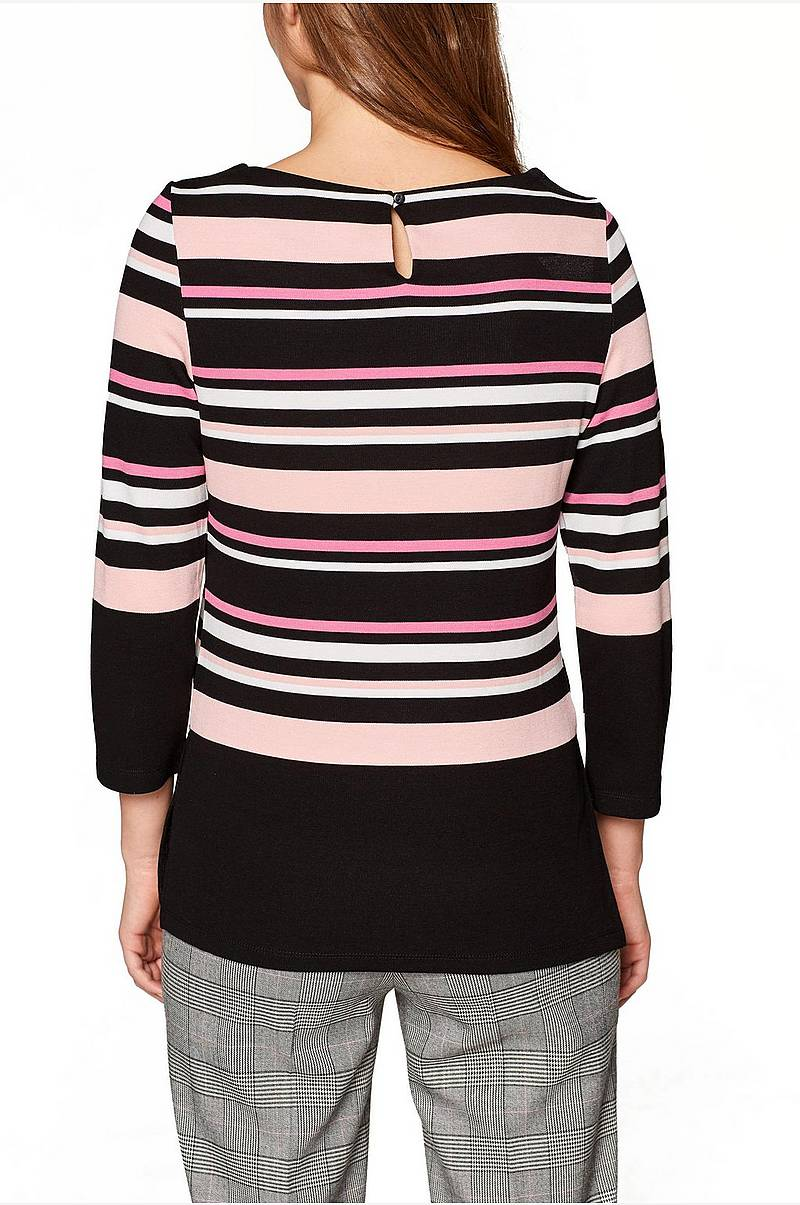 Pusero Y/D Stripe Top