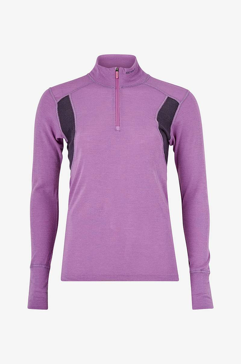 Skiundertrøje Hiking Woman Half Zip Neck