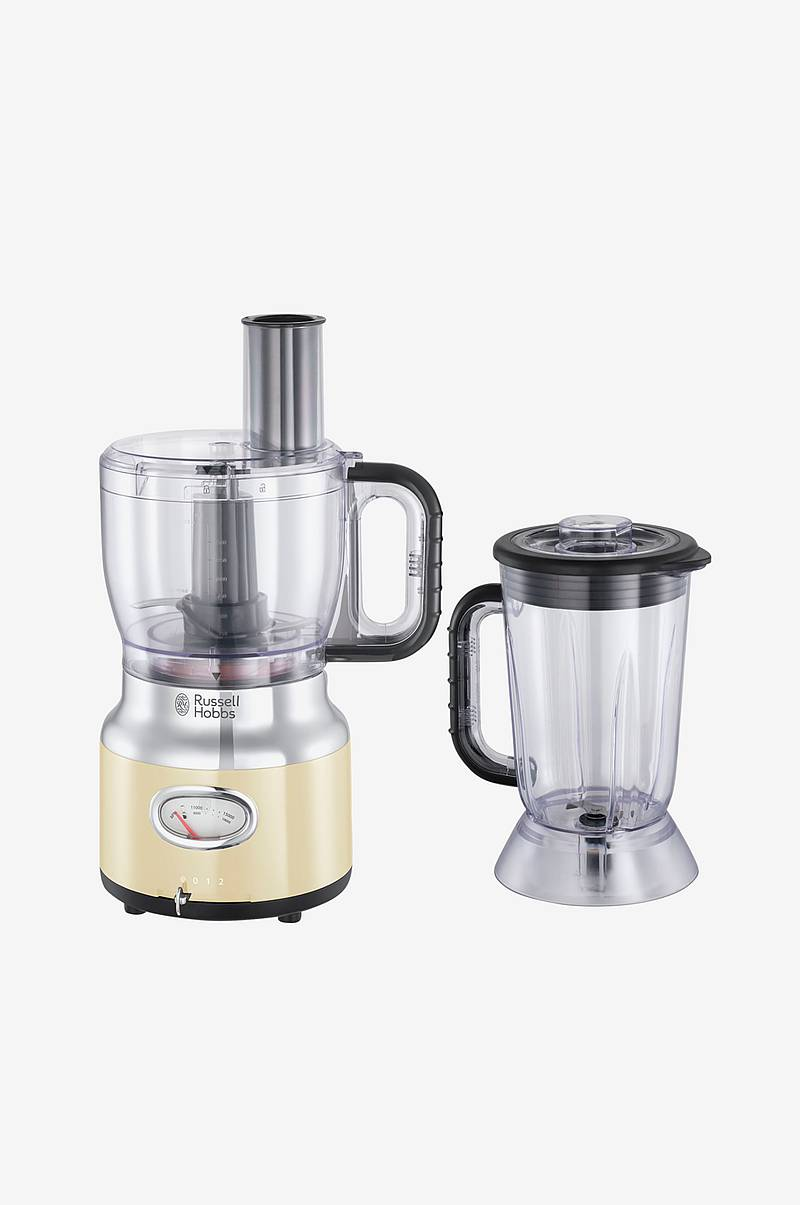 Foodprocessor Retro Cream