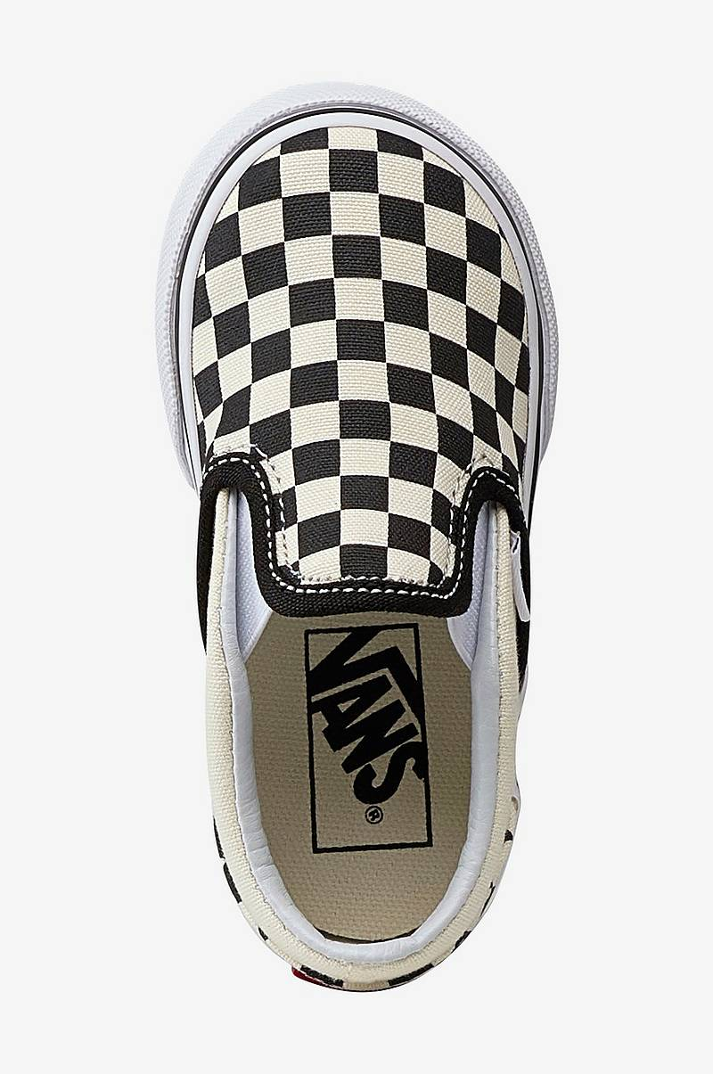 Sneakers Toddler Checkerboard Slip on Shoes
