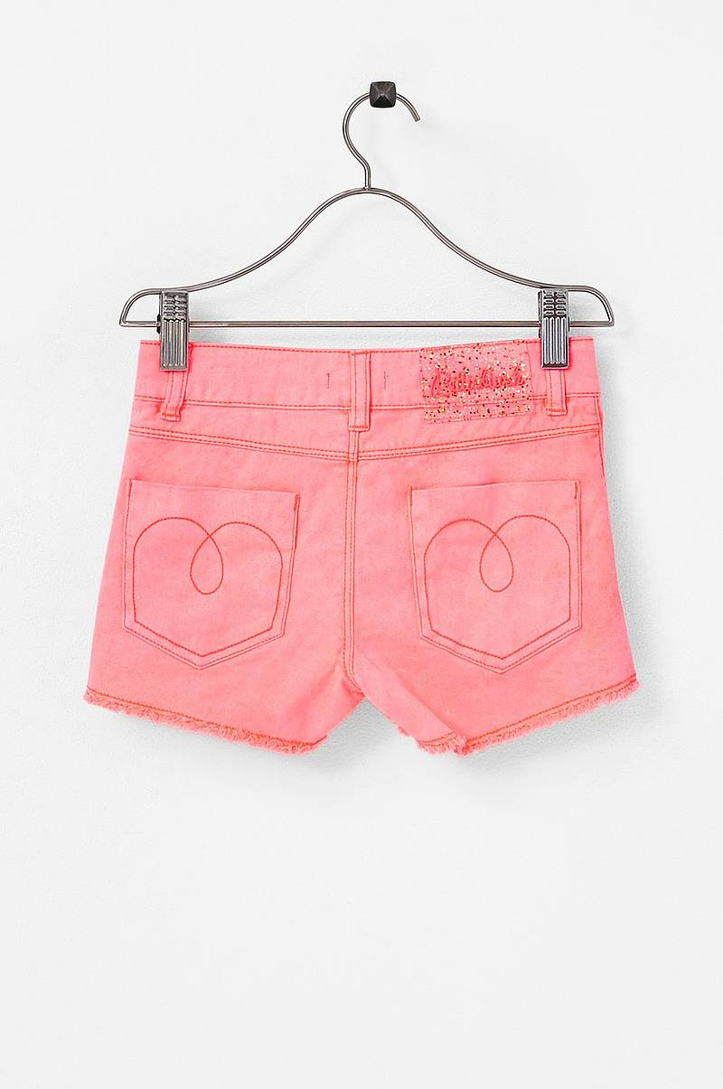 Shorts i bomullstretch