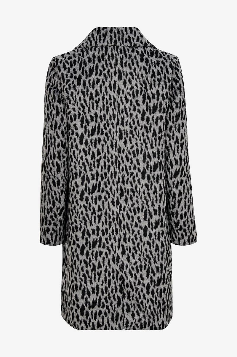Frakke Animal Printed Coat