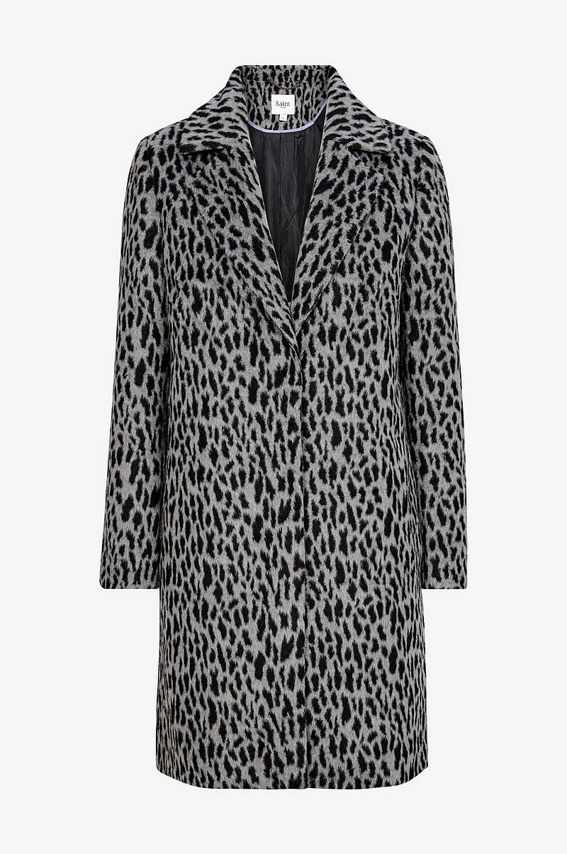 Kåpe Animal Printed Coat