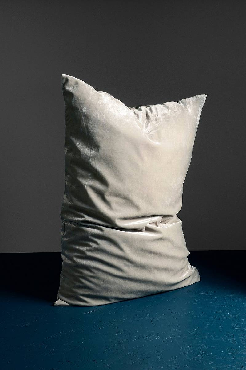 Plain cushion 70x100
