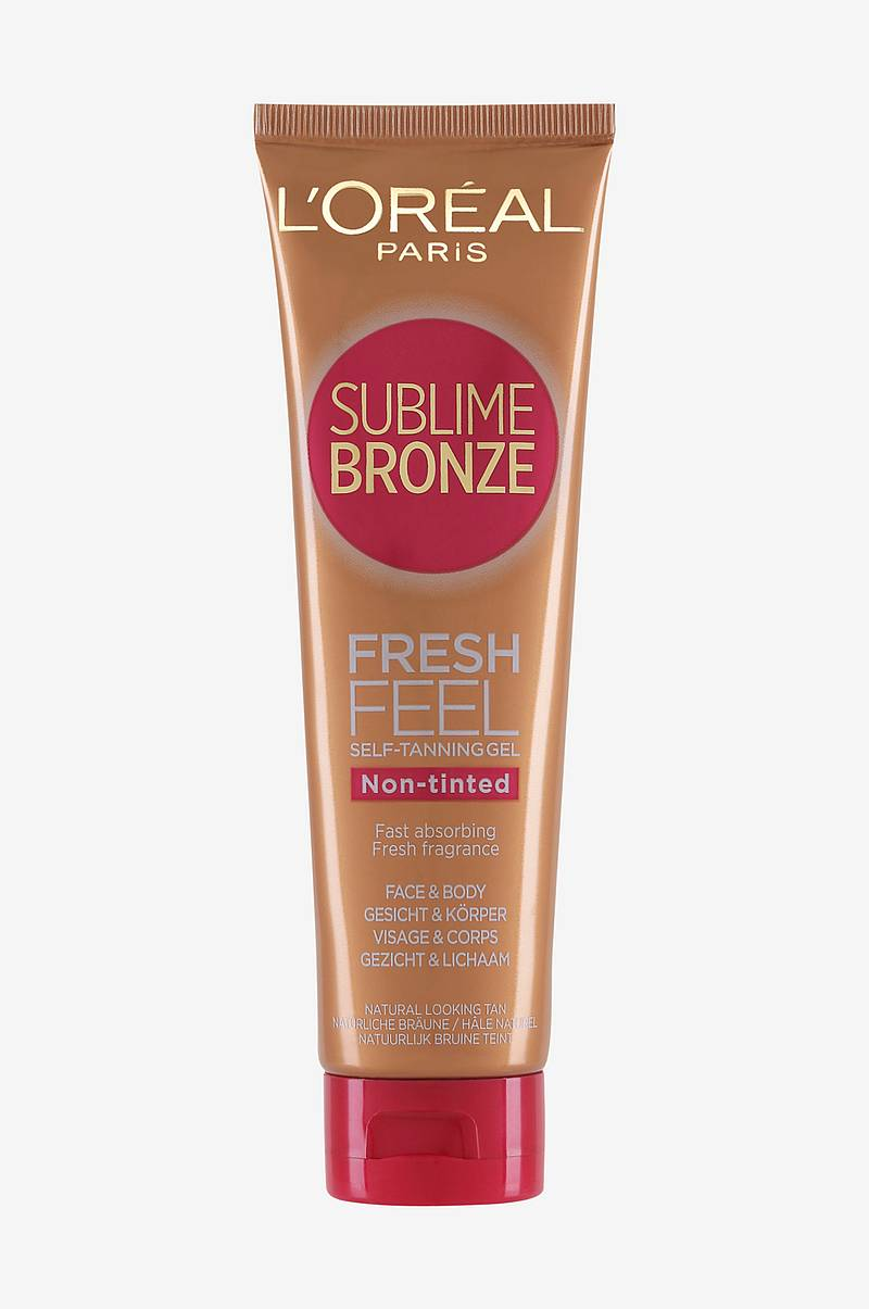 Sublime Bronze Feel Fresh Self Tanning Gel 150ml