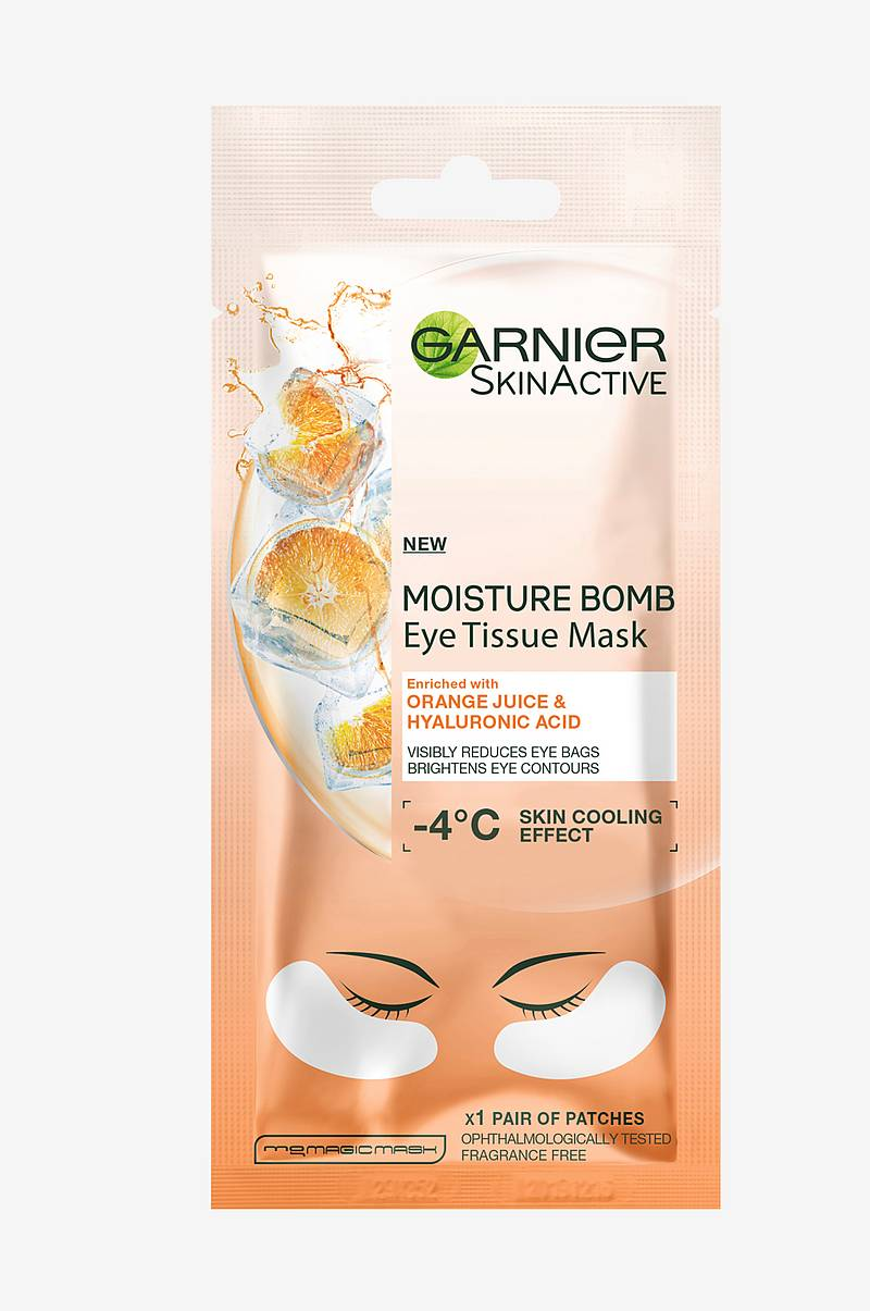 Eye Tissue Mask Orange