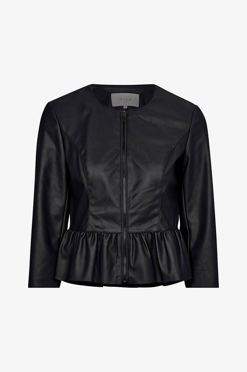Jacka viZozo Faux Leather Jacket
