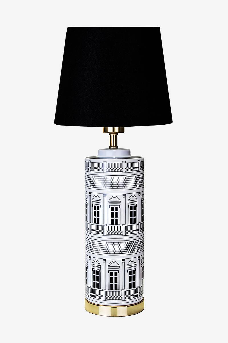 Ellos Home Bordslampa Luis Blå Bordslampor Ellos.se
