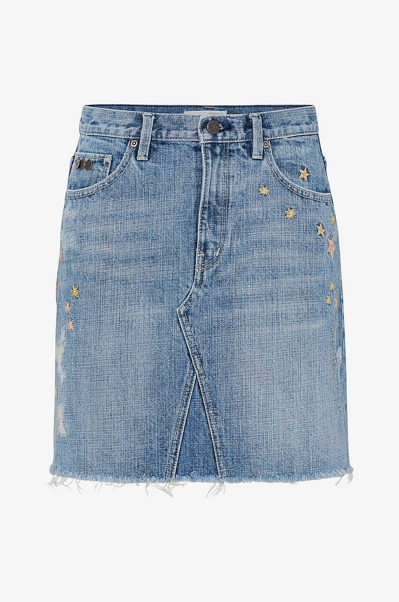 Denimnederdel Hot Cuts Skirt